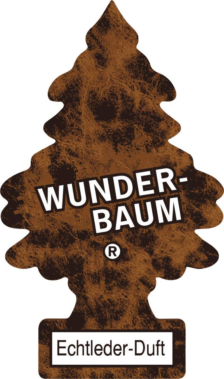 Image of Wunder-Baum Geurkaart Echtleder 1 stuks