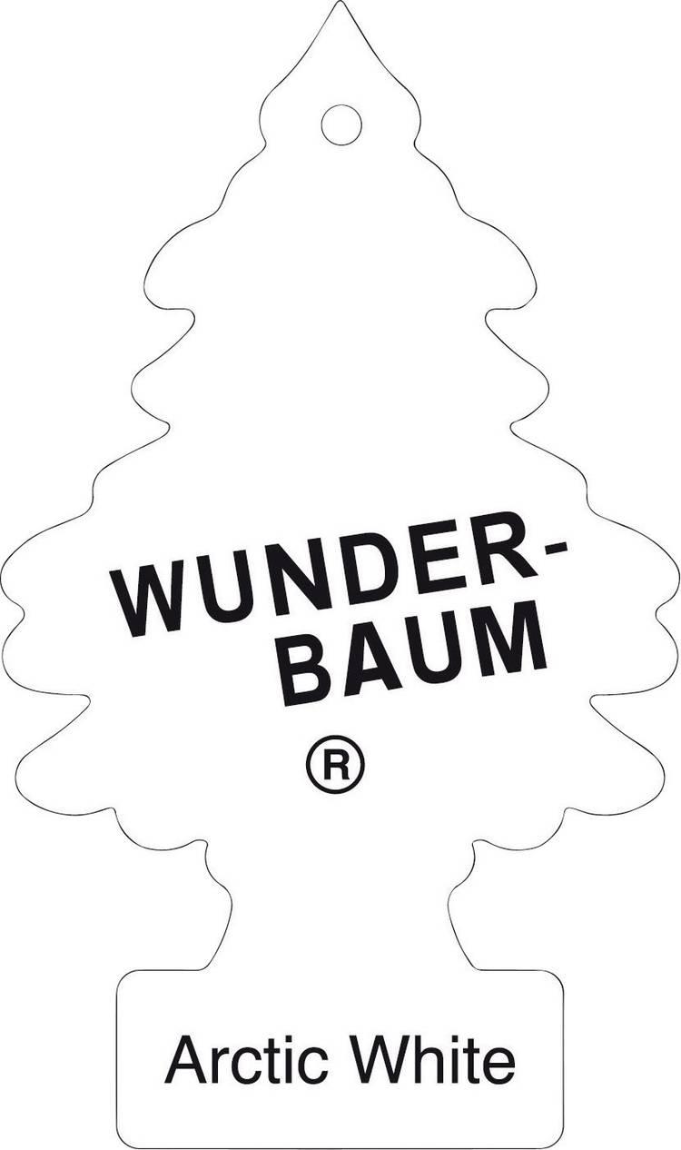 Image of Wunder-Baum Geurkaart Arctic White 1 stuks