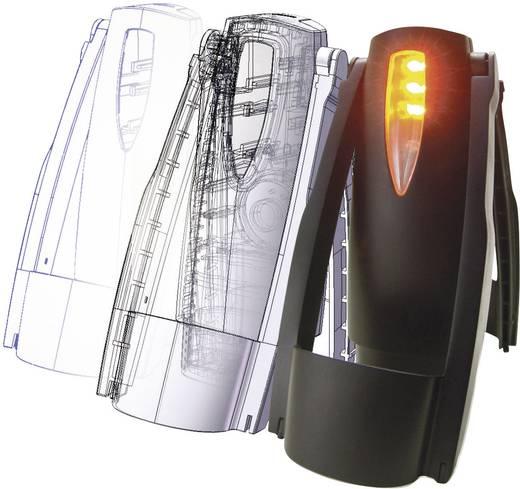 SecoRüt Alarmknipperlicht met werklamp in LED-techniek Secorütt LED-alarmknipperlicht Stroomvoorziening Penlite-batterij