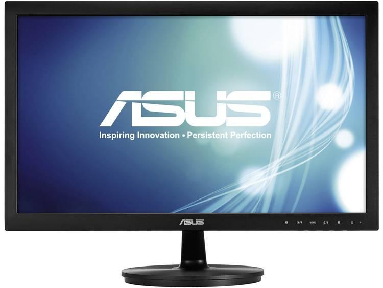 LED-monitor 54.6 cm (21.5 inch) Asus VS228NE Energielabel n.v.t. 1920 x 1080 pix Full HD 5 ms DVI, VGA TN Film