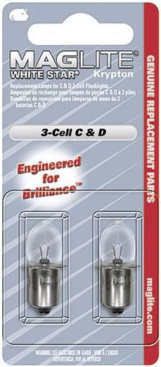 Maglite Reserve kryptonlampen, set van 2, geschikt voor 3C-Cell, 3D-Cell