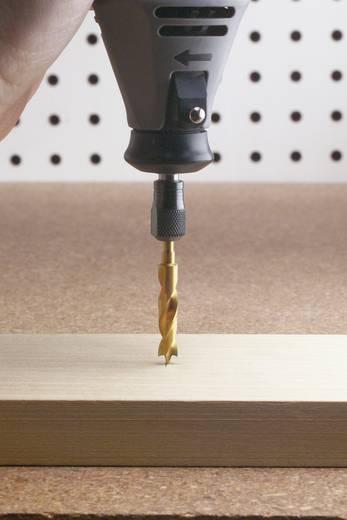 Hout-spiraalboor set 4-delig 3 mm, 4 mm, 5 mm, 6 mm Dremel 26150636JA Cilinderschacht 1 set