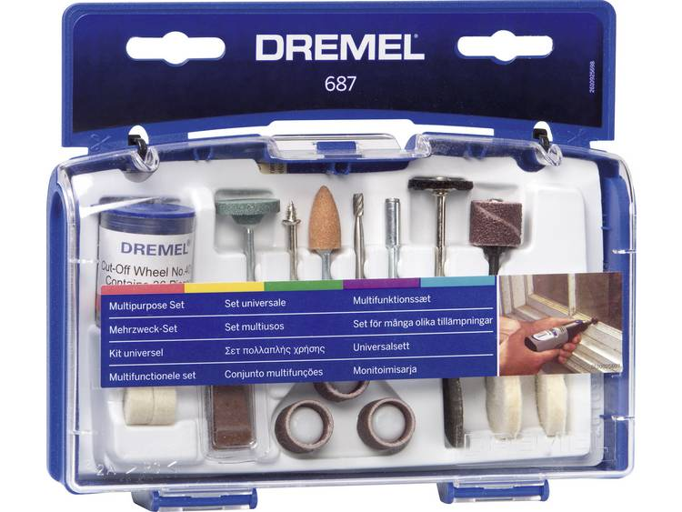 Dremel Multifunctionele Set 687
