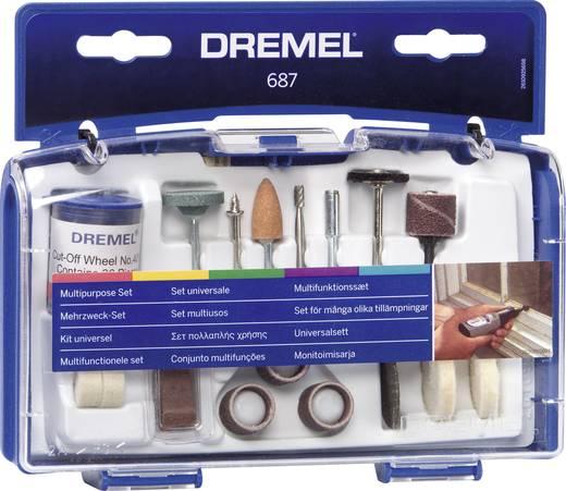 Bosch Accessories 26150687JA Multifunctionele set Dremel 687