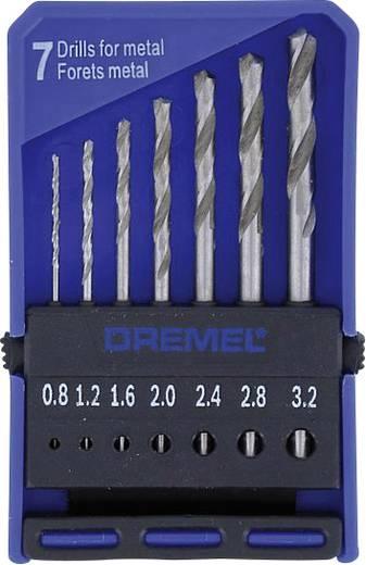 Dremel 2615062832 HSS Metaal-spiraalboor 7-delig Cilinderschacht 1 set