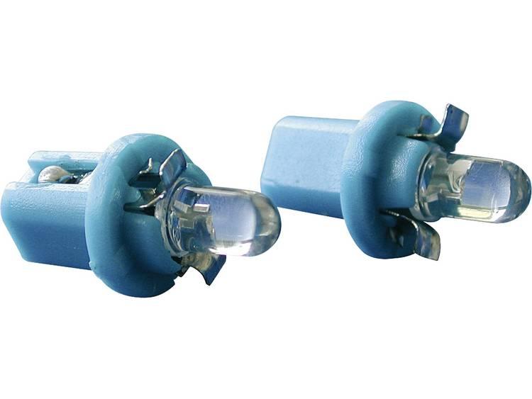 Eufab LED-lampen voor instrumentenverlichting B8.5d Blauw