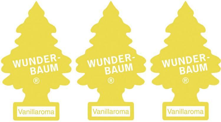 Image of Wunder-Baum Geurkaart Vanille 3 stuks
