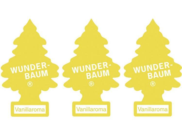Wunder Baum Geurkaart Vanille 3 stuks