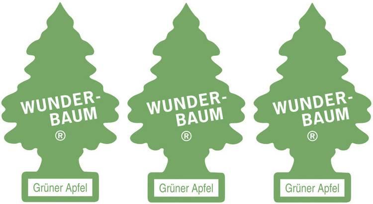 Image of Wunder-Baum Geurkaart Appel 3 stuks