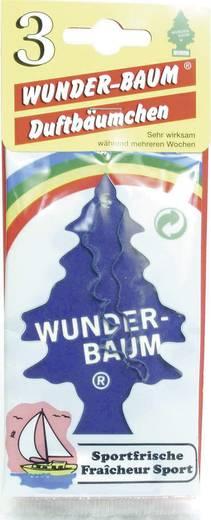 Wunder-Baum Geurkaart Sportfris 3 stuks