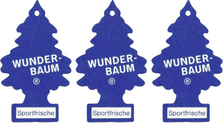 Image of Wunder-Baum Geurkaart Sportfris 3 stuks