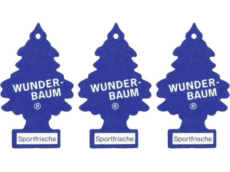 Wunder Baum Geurkaart Sportfris 3 stuks