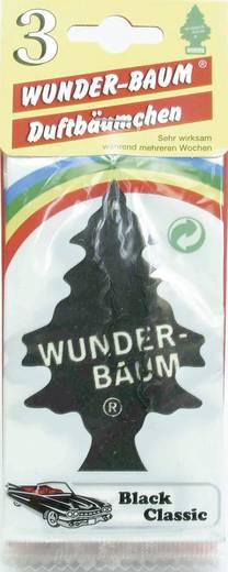 Wunder-Baum Geurkaart Black Ice 3 stuks