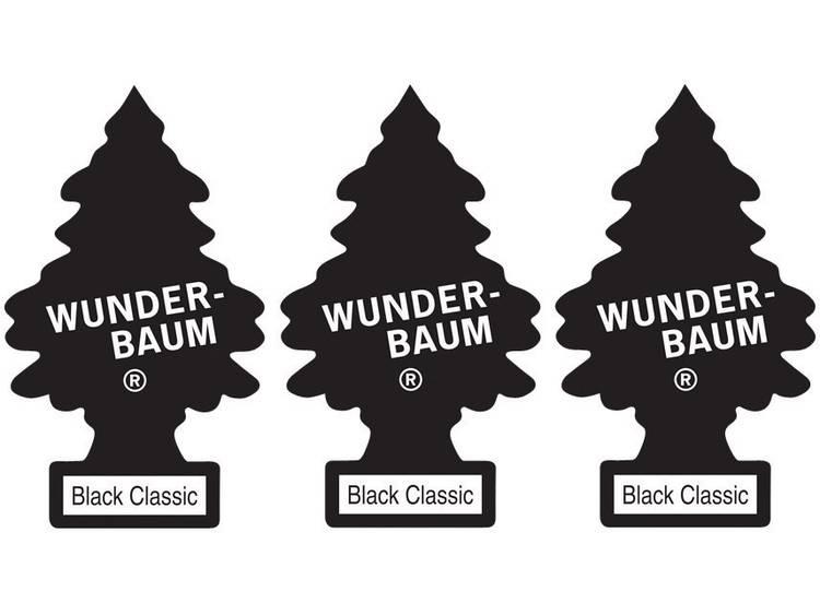 Wunder Baum Geurkaart Black Ice 3 stuks