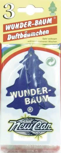 Wunder-Baum Geurkaart New Car 3 stuks