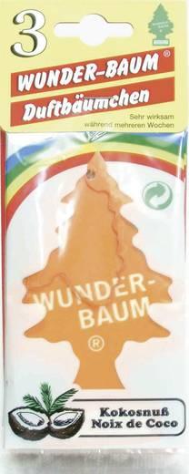 Wunder-Baum Geurkaart Kokos 3 stuks