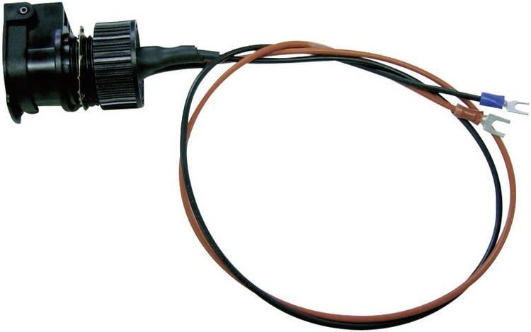 Image of ProCar 57607551 Spatwaterbestendig stopcontact met deksel IP56 Stroombelasting (max.)=16 A Geschikt voor Sigarettenaanstekerstekker