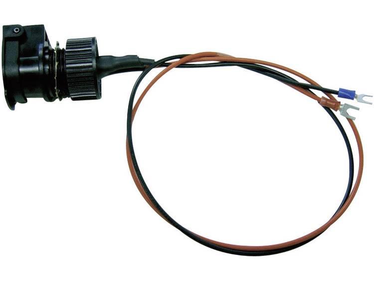 ProCar 57607551 Spatwaterbestendig stopcontact met deksel IP56 Stroombelasting (max.) 16 A Geschikt voor Sigarettenaanstekerstekker