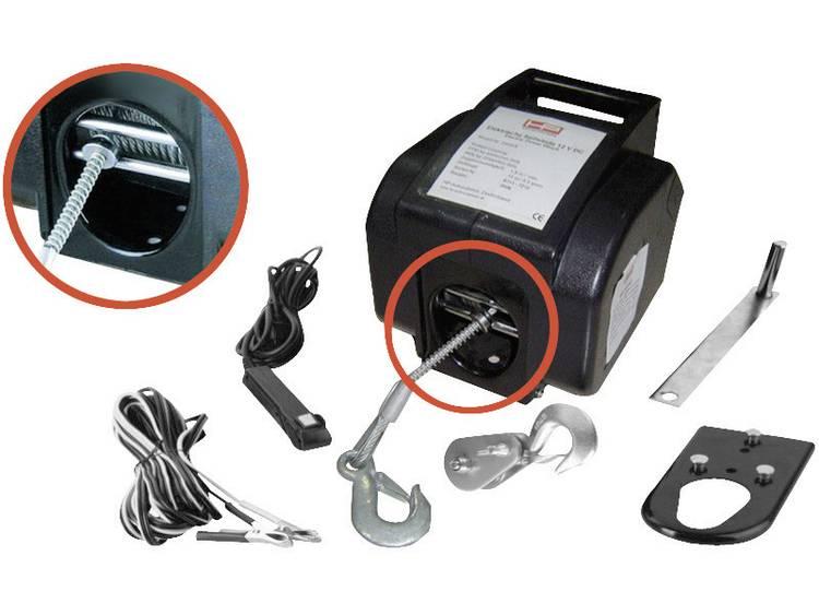 Lier Trekkracht (staand)=900 kg Trekkracht (rollend) 2700 kg HP Autozubehör 20601 Kabelgebonden afstandsbediening