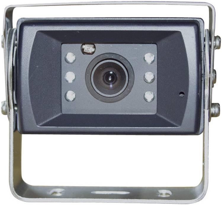 Camos 1428 Kabelgebonden achteruitrijcamera Geïntegreerde microfoon. Geïntegreerde verwarming. Extra IR-verlichting. Automatisch diafragma. Automatische