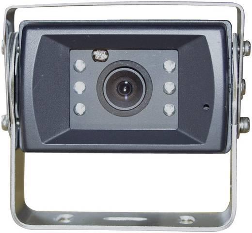 Kabelgebonden achteruitrijcamera Camos 1428 Geïntegreerde microfoon, Geïntegreerde verwarming, Extra IR-verlichting, Aut
