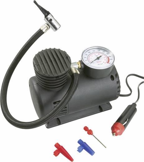 Basetech Autogereedschap-tas 20-delig Stroomvoorziening Zaklamp: monobatterij (1x) niet meegeleverd · Compressor 12 V sigarettenaansteker