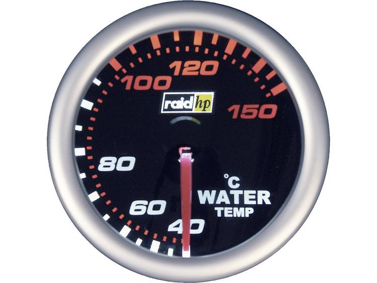 raid hp 660244 Inbouwmeter (auto) Watertemperatuurweergave Meetbereik 40 - 150 °C NightFlight Wit, R