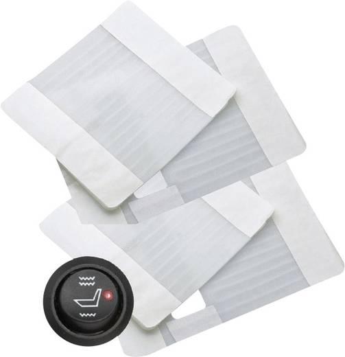 Waeco Zitverwarmer 12 V voor 2 zittingen Wit