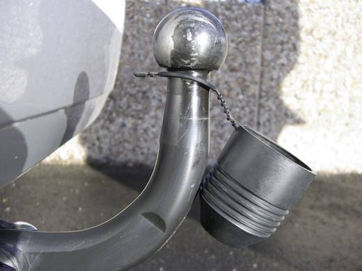 Kap voor de trekhaak, met ring Zwart