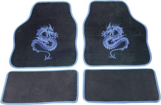 cartrend 1400-01 Voetenmat (universeel) Textiel Blauw