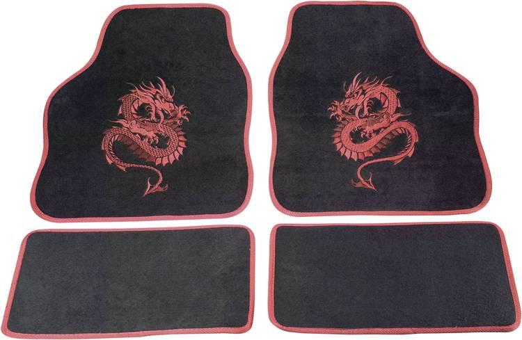 Image of cartrend 1400-02 Voetenmat (universeel) Textiel Rood