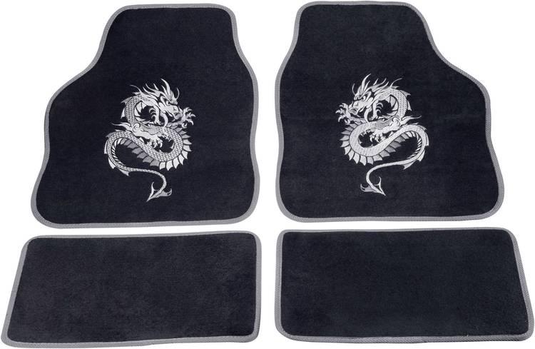 Image of cartrend 1400-03 Voetenmat (universeel) Textiel Zilver