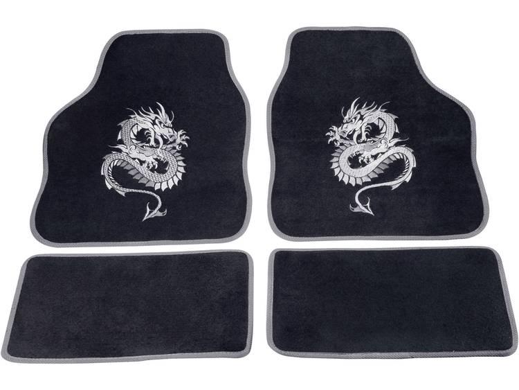 cartrend 1400 03 Voetenmat (universeel) Textiel Zilver