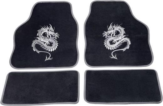cartrend 1400-03 Voetenmat (universeel) Textiel Zilver