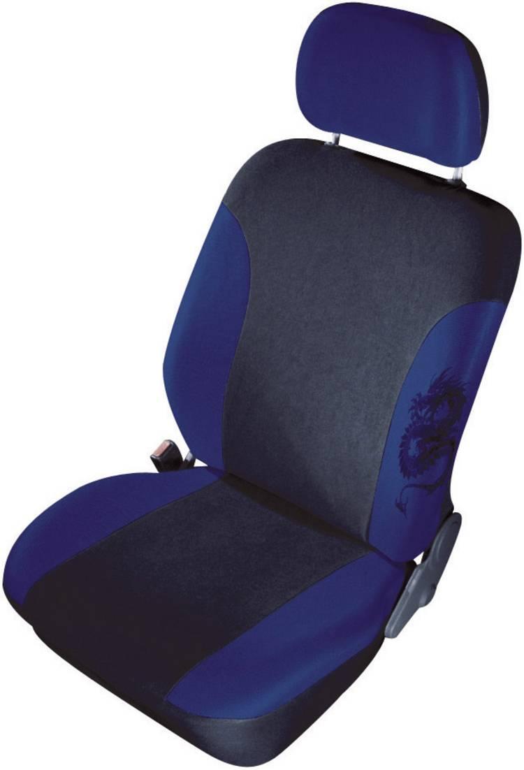 Image of cartrend 79-5320-01 Mystery Autostoelhoes 11-delig Polyester Blauw Bestuurder, Passagier, Achterbank