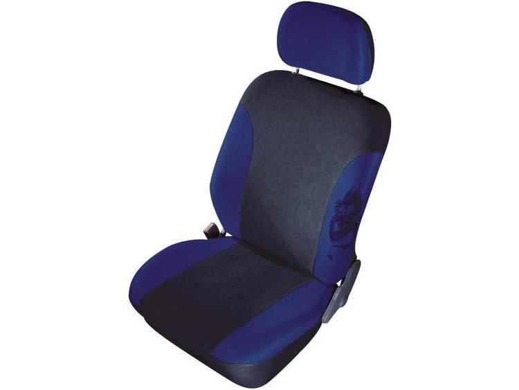 cartrend 79 5320 01 Mystery Autostoelhoes 11 delig Polyester Blauw Bestuurder, Passagier, Achterbank