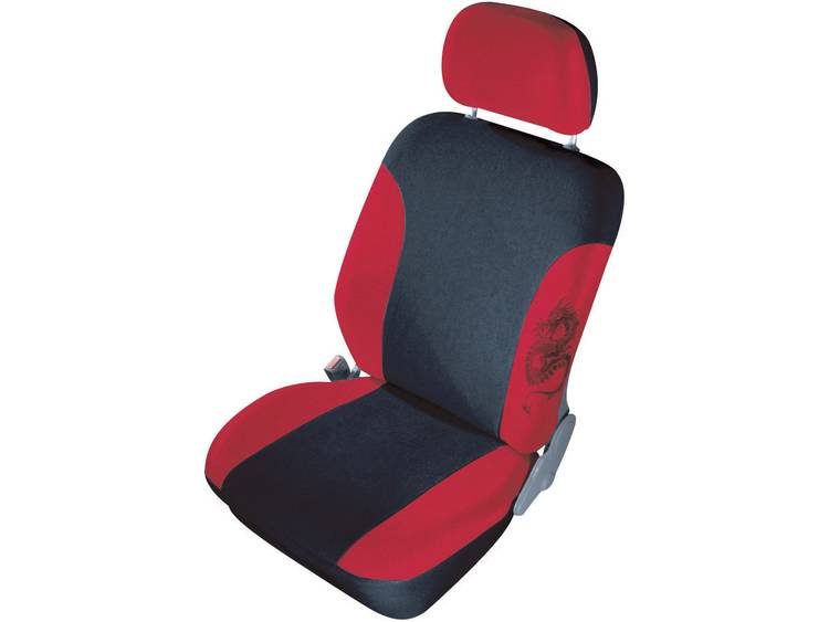 cartrend 79 5320 02 Mystery Autostoelhoes 11 delig Polyester Rood Bestuurder, Passagier, Achterbank