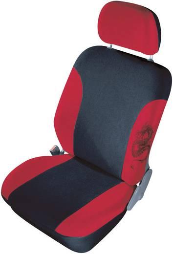 Autostoelhoes 11-delig cartrend 79-5320-02 Mystery Polyester Rood Bestuurder, Passagier, Achterbank