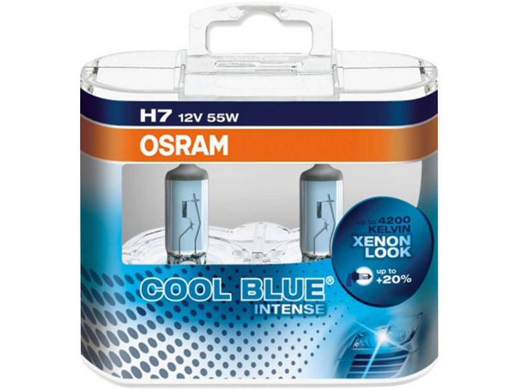 OSRAM Halogeenlamp Cool Blue Intense H7 55 W
