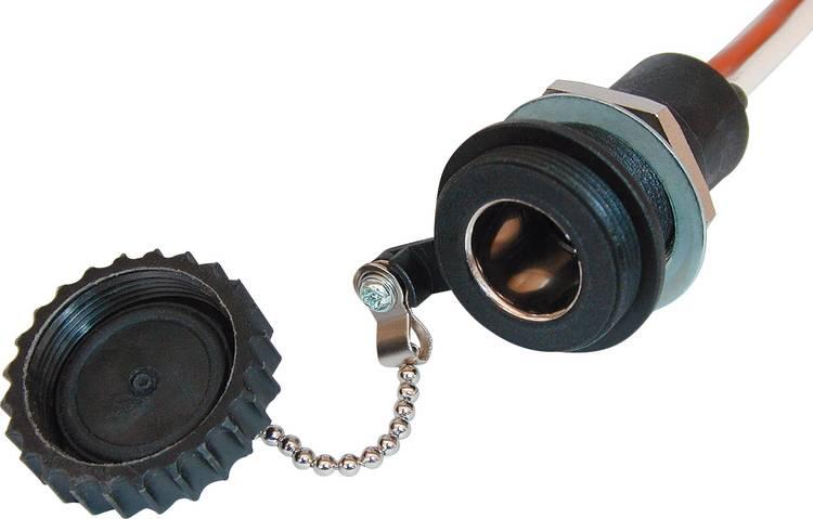 ProCar 52005003 Waterdichte boordspannings-stekkerdoos Stroombelasting (max.): 16 A Geschikt voor Eurostekker