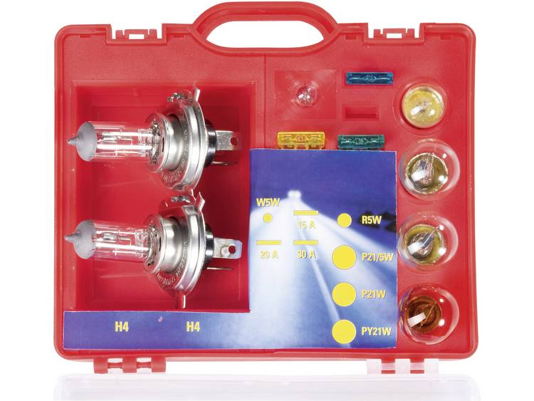Unitec Assortiment lampen Standard H4 60 55 W