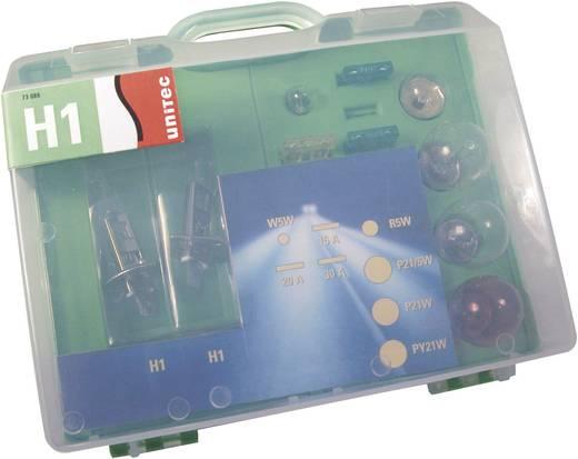 Assortiment lampen Unitec Standard H1 12 V 1 set P14.5s