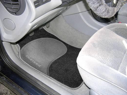 Eufab 28025 Voetenmat (universeel) Textiel Zwart, Grijs
