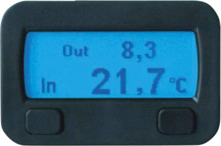 10320 Sinustec Thermostaat Thermostaatfunctie. Opbouw. Inbouw. Binnentemperatuur. Buitentemperatuur. IJswaarschuwing. Steigingsmeter. Hellingmeter. Datum.