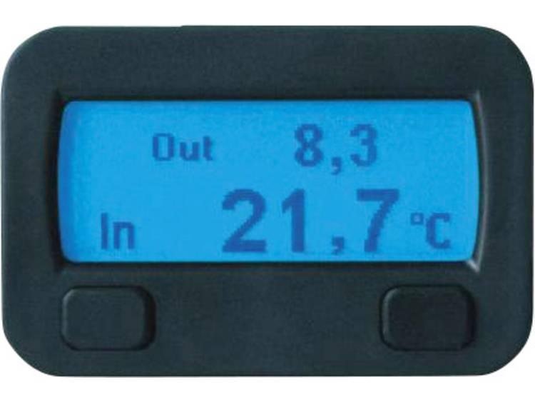 10320 Sinustec Thermostaat Thermostaatfunctie, Opbouw, Inbouw, Binnentemperatuur, Buitentemperatuur, IJswaarschuwing, Steigingsmeter, Hellingmeter, Datum,
