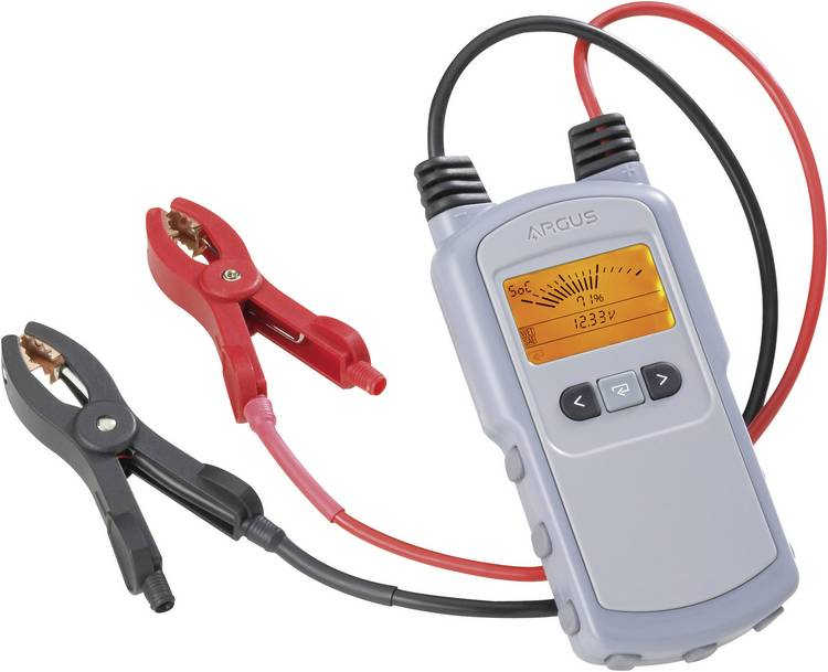 Image of Argus AA350 Accutester 12 V 260 mm x 170 mm x 70 mm