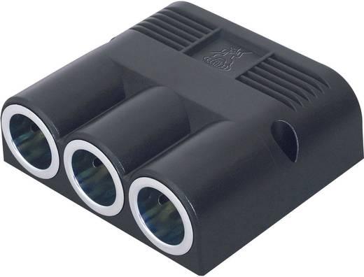 ProCar 3-voudige verdeler Stroombelasting (max.): 16 A Geschikt voor (details) Sigarettenaanstekerstekker