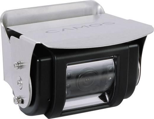 Kabelgebonden achteruitrijcamera systeem Camos RV 900/3 Extra IR-verlichting, Geïntegreerde microfoon, Geïntegreerde ver