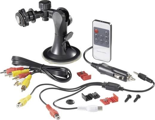 Kabelgebonden achteruitrijcamera systeem KRV7-1 Extra IR-verlichting Opbouw