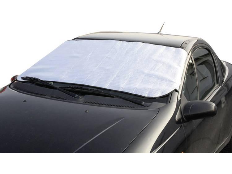 cartrend Voorruitfolie Aluminiumcoating, Diefstalbescherming (b x h) 145 cm x 70 cm Auto Zilver